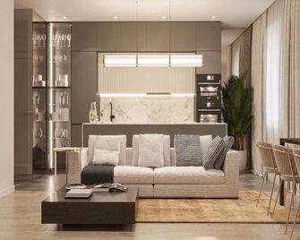 20万以上130平米轻奢风格客厅装修案例