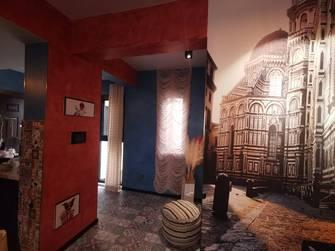 富裕型80平米公装风格客厅图片