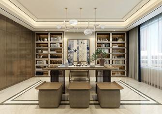 140平米三中式风格书房装修案例