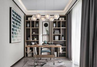 豪华型140平米三室两厅中式风格书房装修效果图