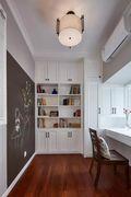 20万以上100平米四室一厅美式风格书房图