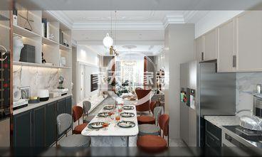 一室一厅美式风格厨房图片
