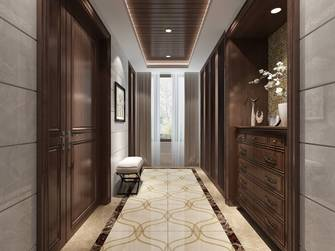 豪华型140平米复式新古典风格玄关效果图