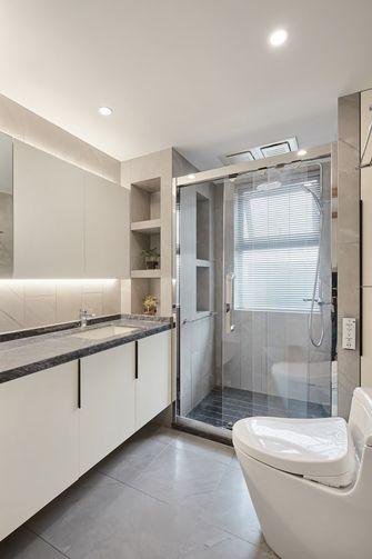 110平米三室两厅日式风格卫生间图片