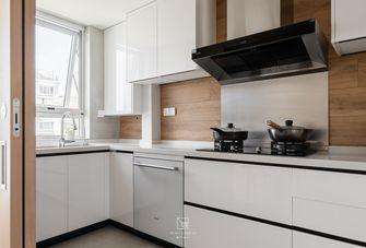 130平米三室一厅日式风格厨房装修图片大全