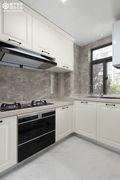 豪华型120平米三室两厅美式风格厨房装修图片大全