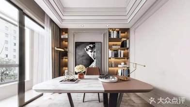 20万以上140平米四法式风格书房图