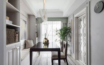 140平米三室三厅北欧风格餐厅设计图