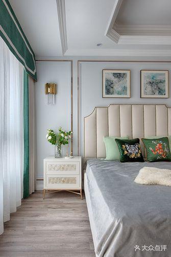 富裕型120平米三室一厅美式风格卧室图