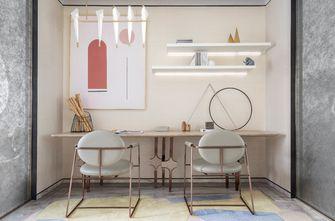富裕型140平米四室两厅现代简约风格书房图片