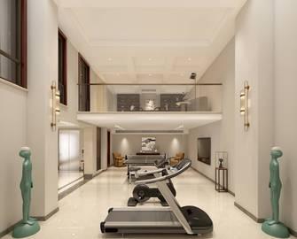 140平米别墅中式风格健身房图
