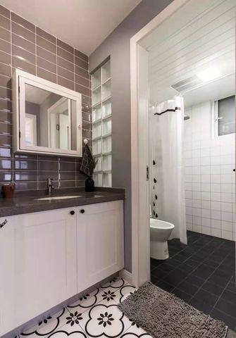 富裕型90平米混搭风格卫生间欣赏图