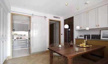 富裕型140平米四室一厅混搭风格餐厅装修效果图