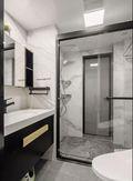 5-10万60平米欧式风格卫生间设计图