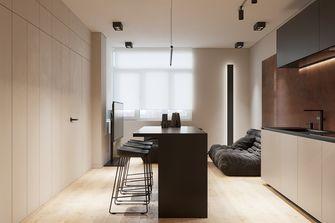 经济型50平米一居室现代简约风格餐厅装修效果图
