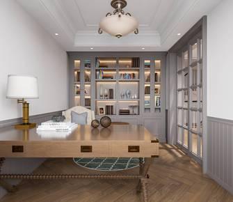 豪华型140平米复式美式风格书房装修效果图