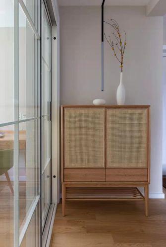 90平米三室一厅日式风格玄关装修图片大全