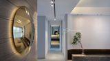 豪华型140平米三室两厅现代简约风格玄关图片大全