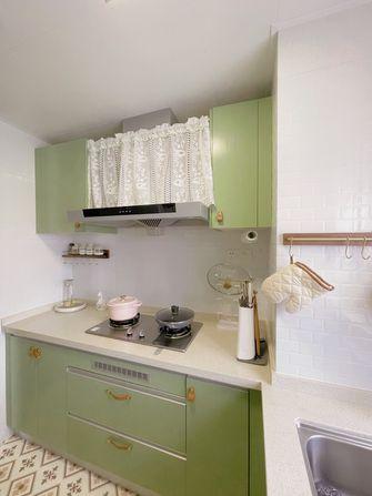 90平米三室两厅新古典风格厨房欣赏图