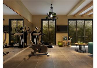 20万以上140平米复式现代简约风格健身房装修效果图