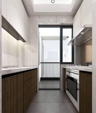 富裕型三室两厅现代简约风格厨房欣赏图