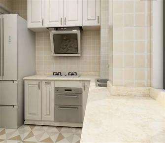 90平米三欧式风格厨房欣赏图