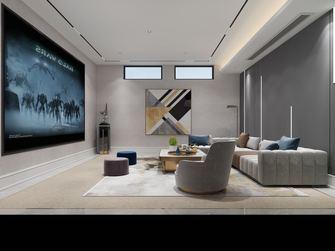 140平米别墅轻奢风格影音室装修案例