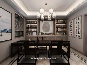 140平米三美式风格书房装修效果图