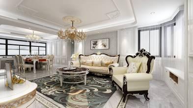 140平米三室一厅法式风格阳光房装修案例