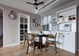 富裕型120平米四室两厅美式风格餐厅装修图片大全