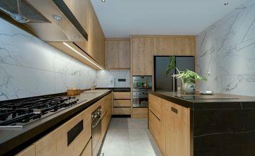 10-15万90平米三室一厅混搭风格厨房欣赏图