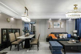 富裕型130平米三室一厅欧式风格餐厅设计图