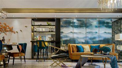 110平米三室两厅港式风格客厅设计图