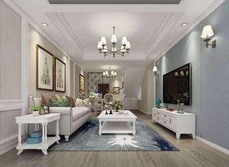 豪华型140平米四室三厅美式风格客厅效果图