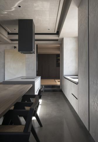 60平米一室一厅新古典风格厨房效果图