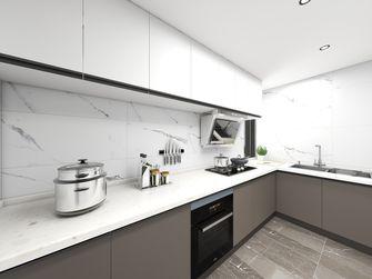 60平米一室两厅轻奢风格厨房图片