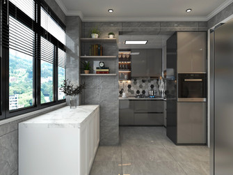 20万以上140平米三室两厅法式风格厨房图片