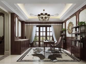 豪华型140平米别墅新古典风格书房设计图