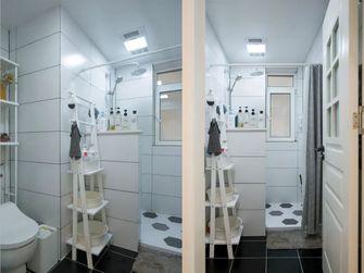 经济型90平米现代简约风格卫生间装修图片大全