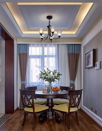 20万以上130平米三室两厅美式风格餐厅欣赏图