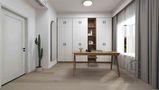 15-20万140平米四室两厅日式风格书房欣赏图