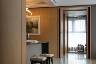 70平米一居室美式风格客厅效果图