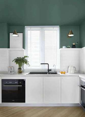 10-15万110平米三室两厅北欧风格厨房设计图