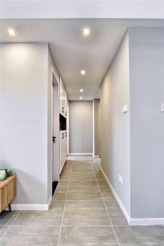 富裕型80平米三室两厅北欧风格走廊效果图