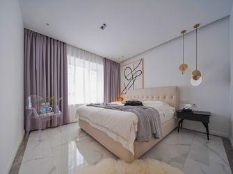 130平米三室一厅新古典风格卧室图片