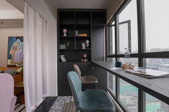 富裕型120平米三室两厅北欧风格阳台装修图片大全