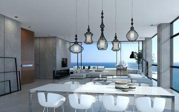 20万以上110平米三室两厅北欧风格餐厅装修图片大全