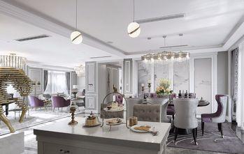 豪华型140平米四室一厅法式风格餐厅装修图片大全