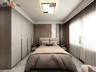 经济型110平米三室两厅中式风格卧室图片大全
