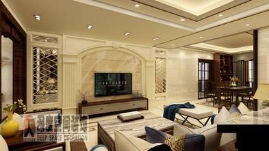 富裕型130平米中式风格客厅图片大全